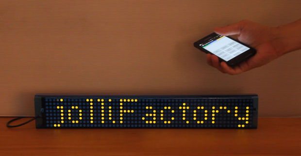 Scrolling text using the MAX7219 and an Arduino - Tutorial