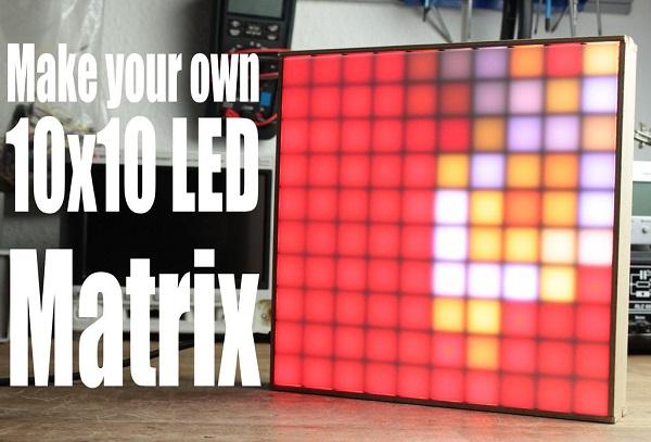 Светодиодная матрица своими руками фото 804